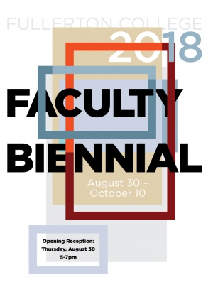 Faculty Biennial 2018